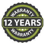 Upto 12 Years Warranty
