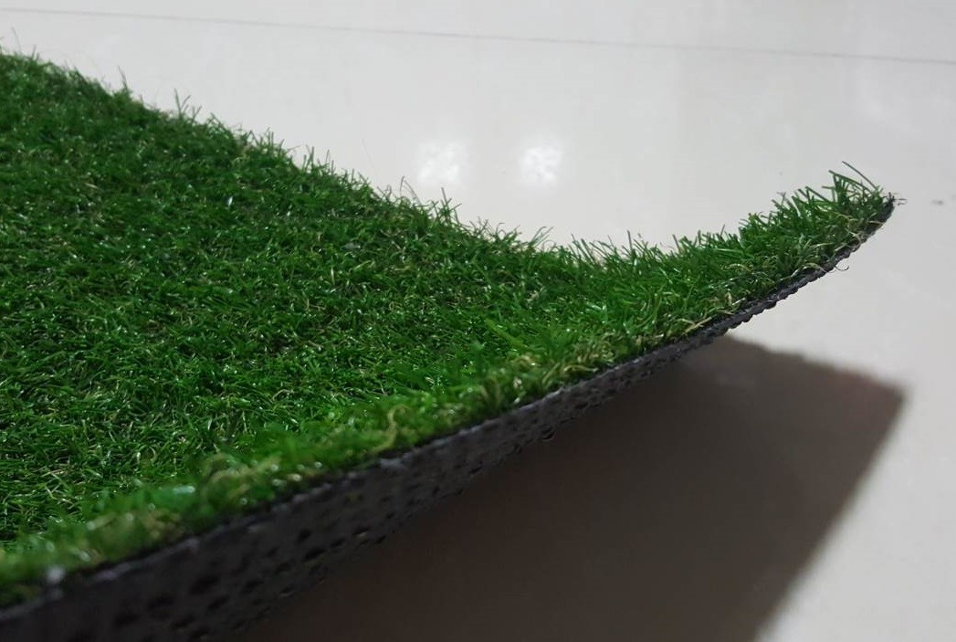 artificial grass lawn view