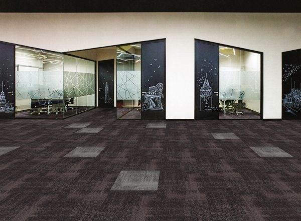 Vintage 3 carpet tiles