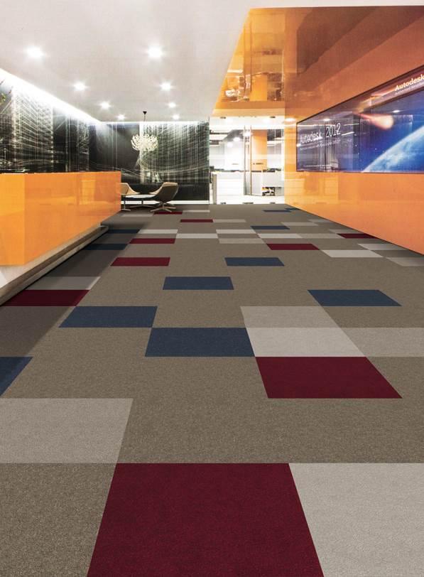 Moodsetter carpet tiles