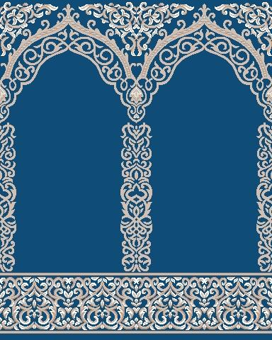 Mosque-Blue