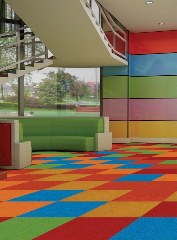 Mystic 4 carpet tiles