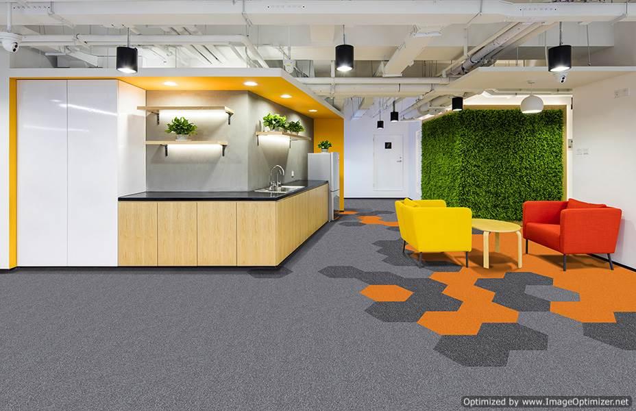 HEX1 carpet tiles