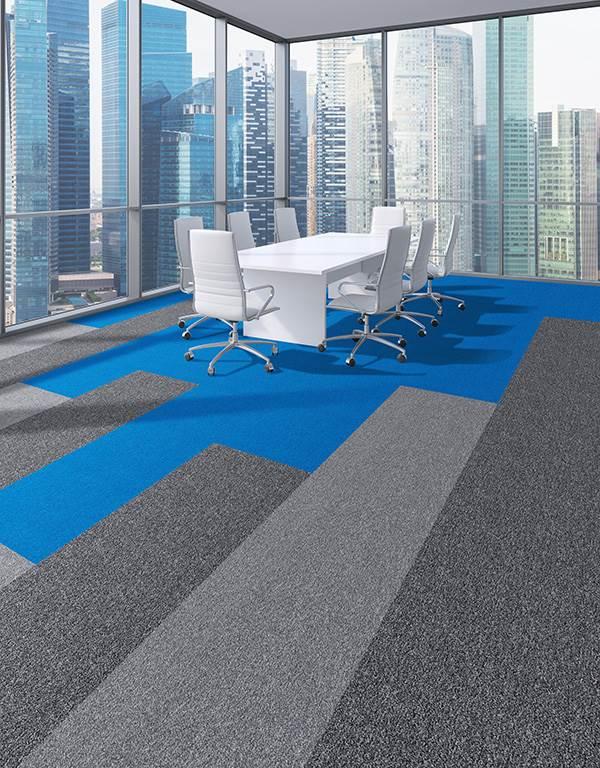 HEX 4 carpet tiles