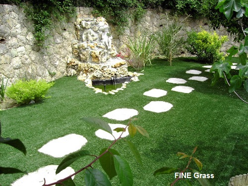 artificial grass outdoor fine