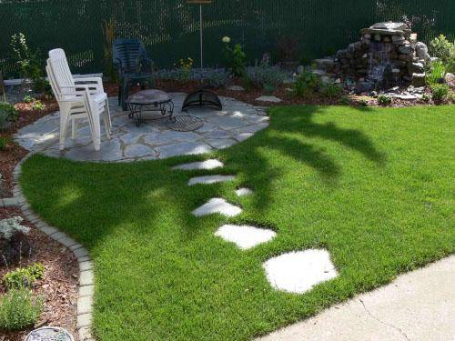 artificial grass outdoor lawn