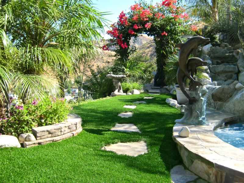 artificial grass outdoor meadow