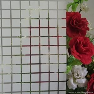 Deco Film White Square