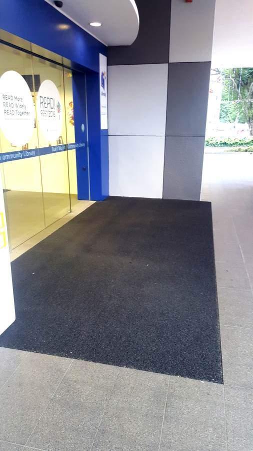 Coil mat Entrance