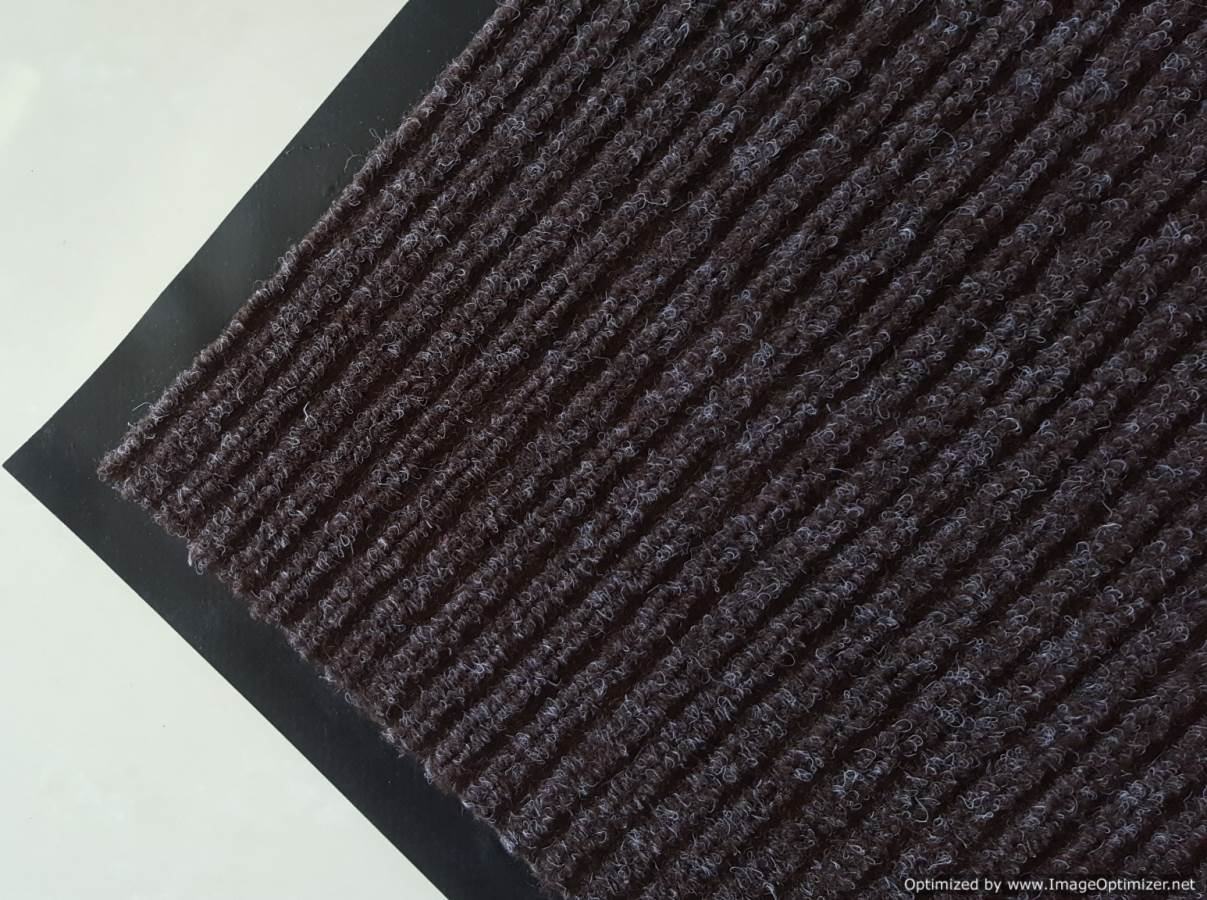 Ribbed Mat - Brown