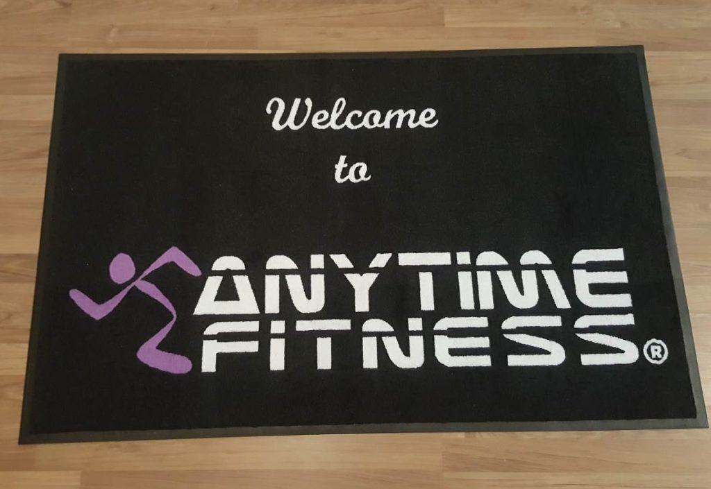 Anytime Fitness Logo mat