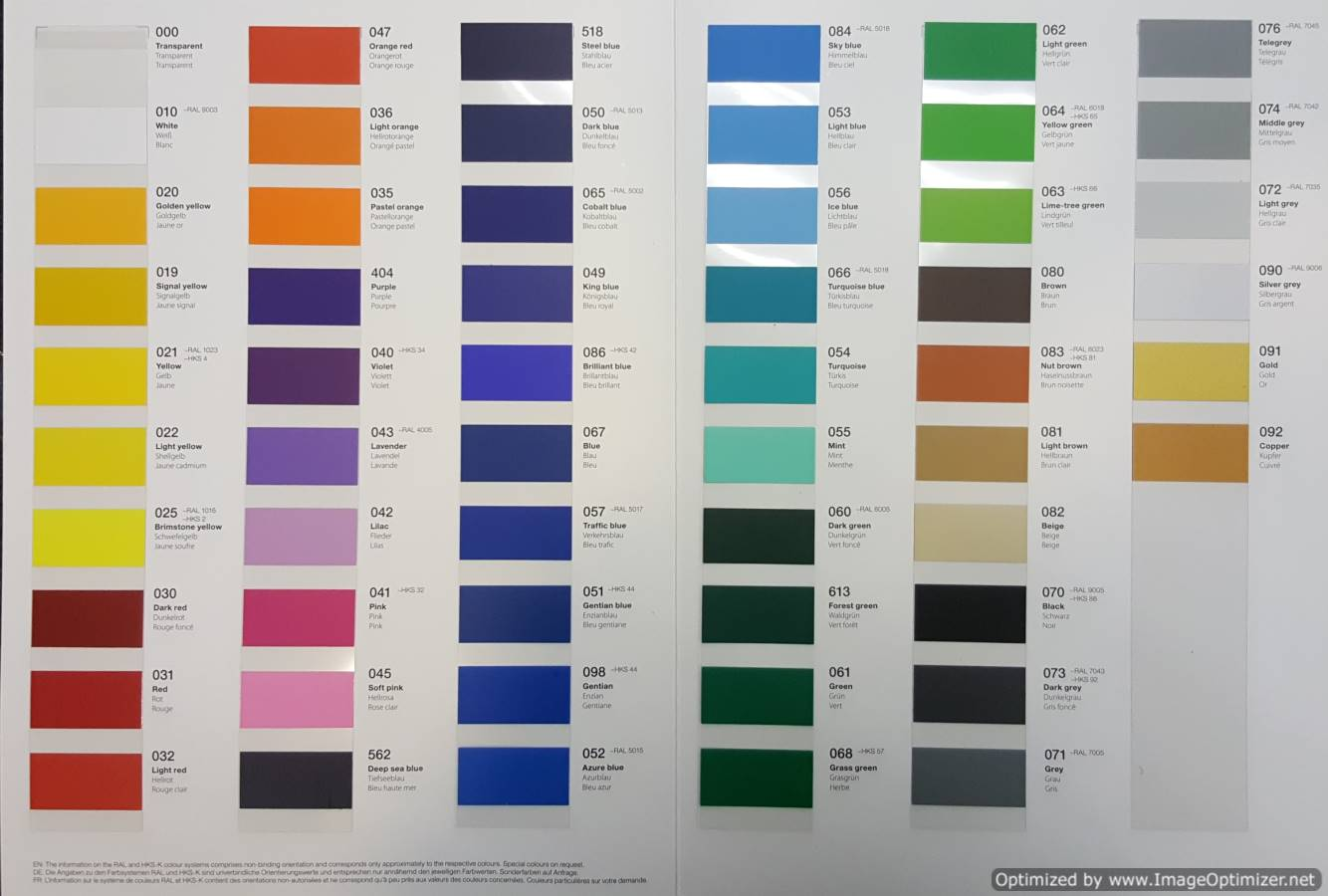 Color Films Opaque Frosted And Clear Color Films