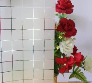 Frosted Film Squares
