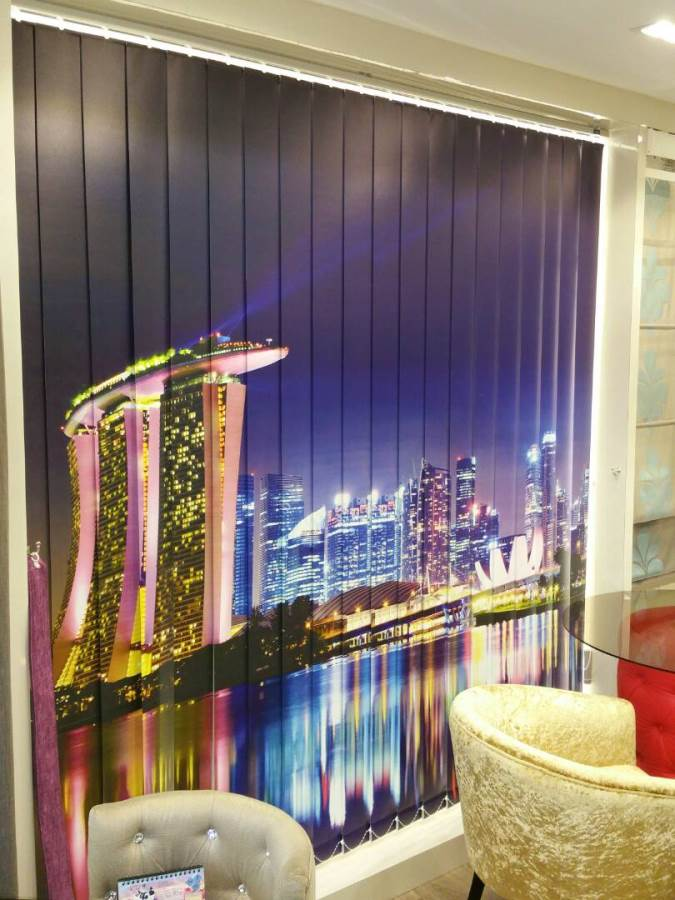 Vertical Blind Asro Singapore Is Reputed Supplier Of All