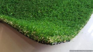 artificial grass meadow view