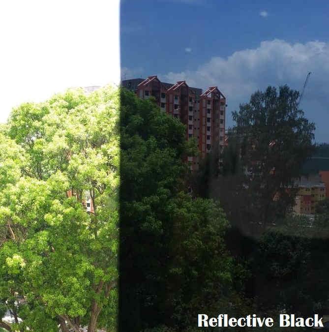 solar film Reflective Black
