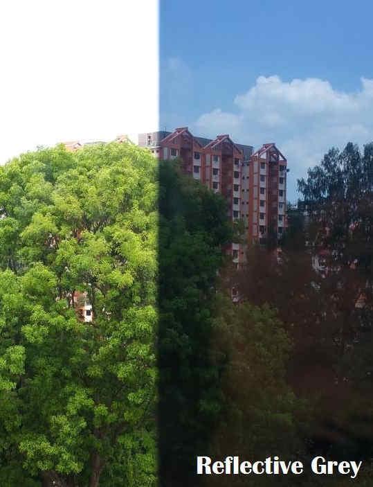 solar film Reflective Grey