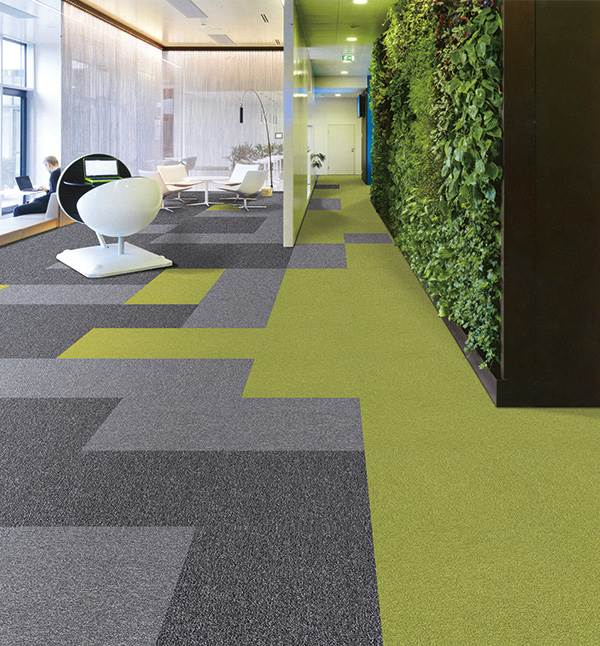 HEX 5 carpet tiles