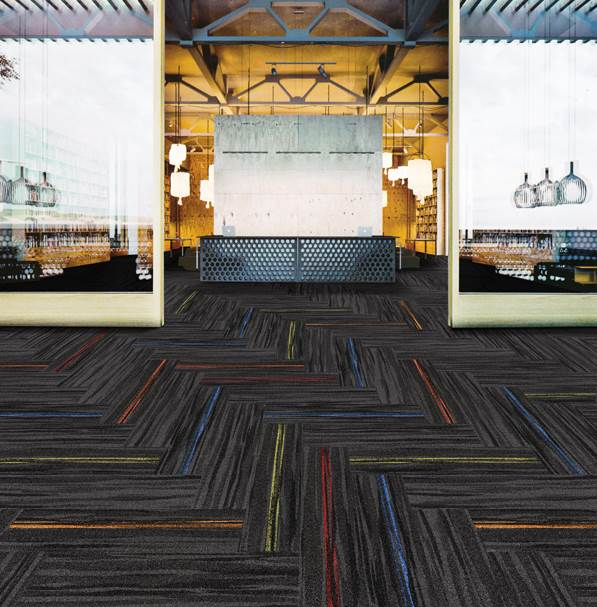 Topaz-4F carpet tiles