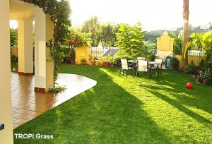 artificial grass outdoor tropi