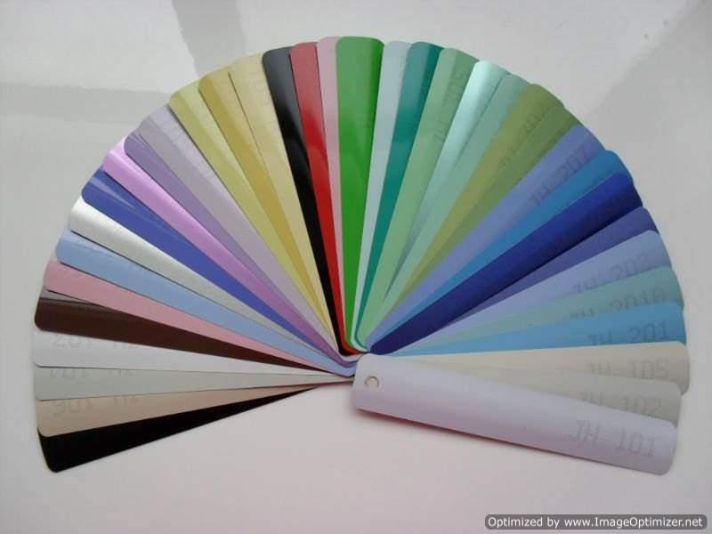 Venetian Blinds Colours Asro