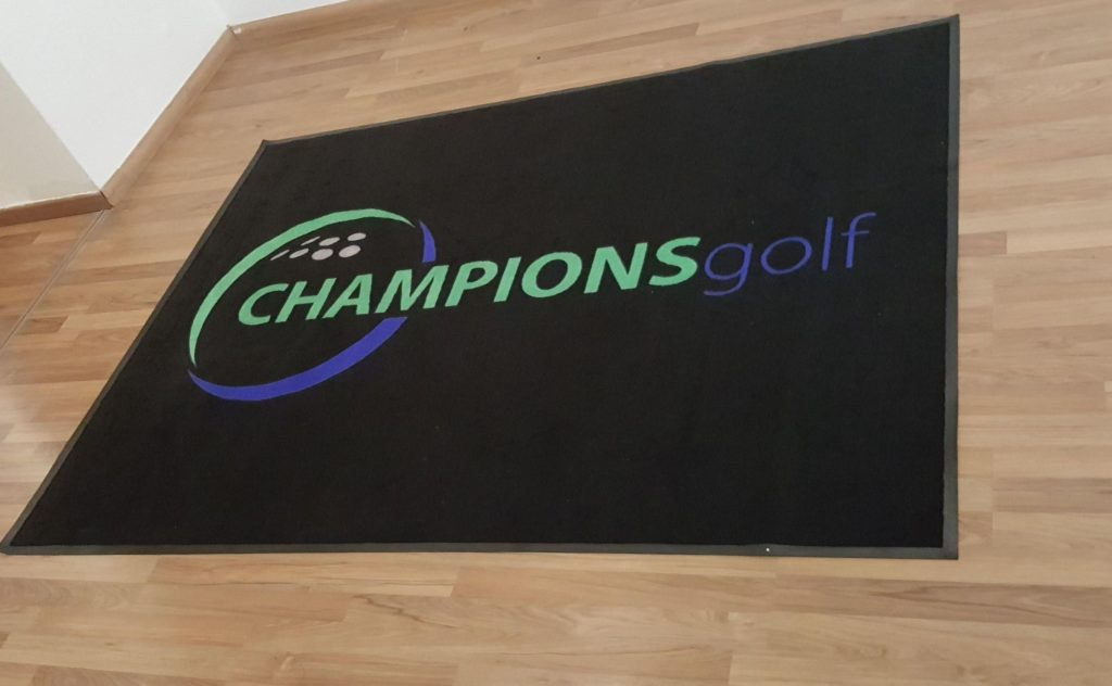 Logo mat -Champion Golf