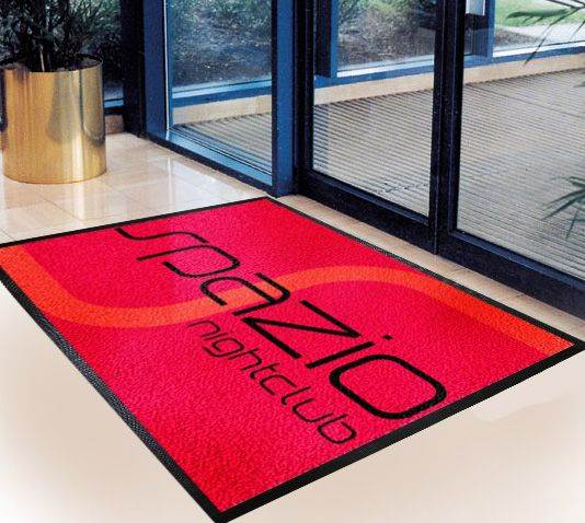 Logo Mat - Red