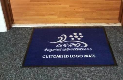 Logo Mat - ASRO Blue