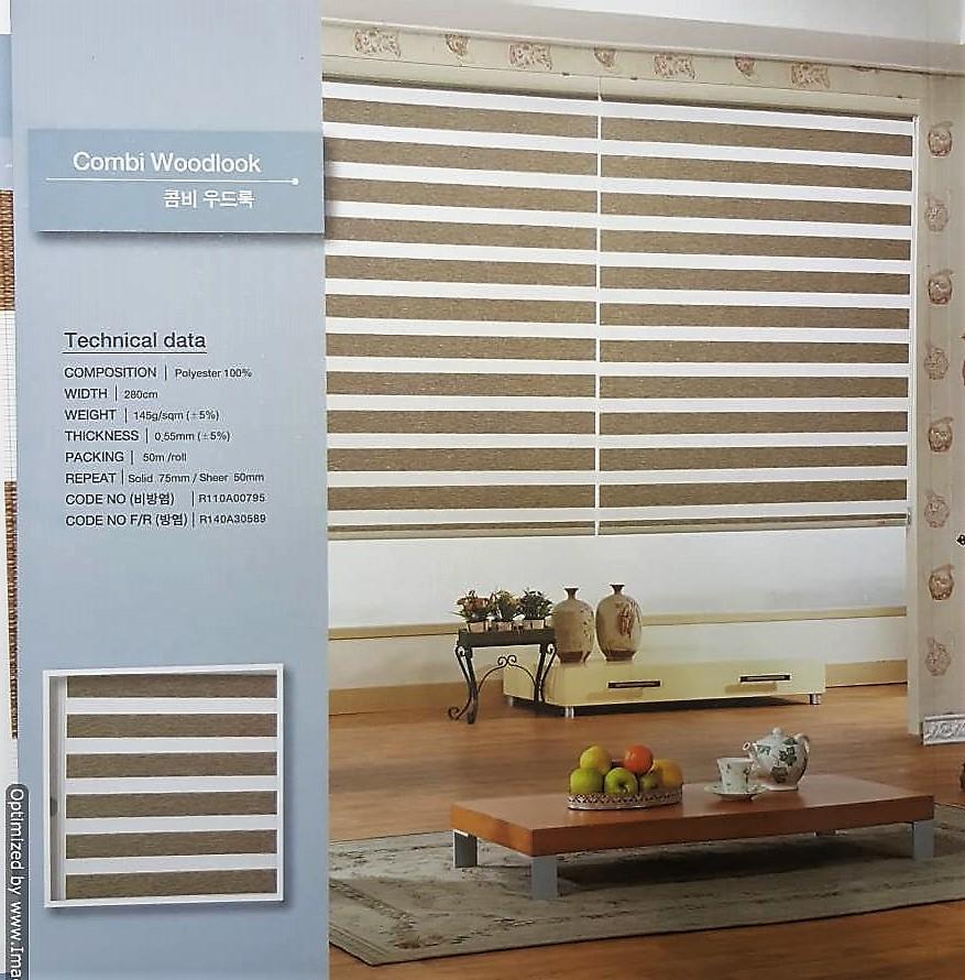 Woodlook Combi blinds