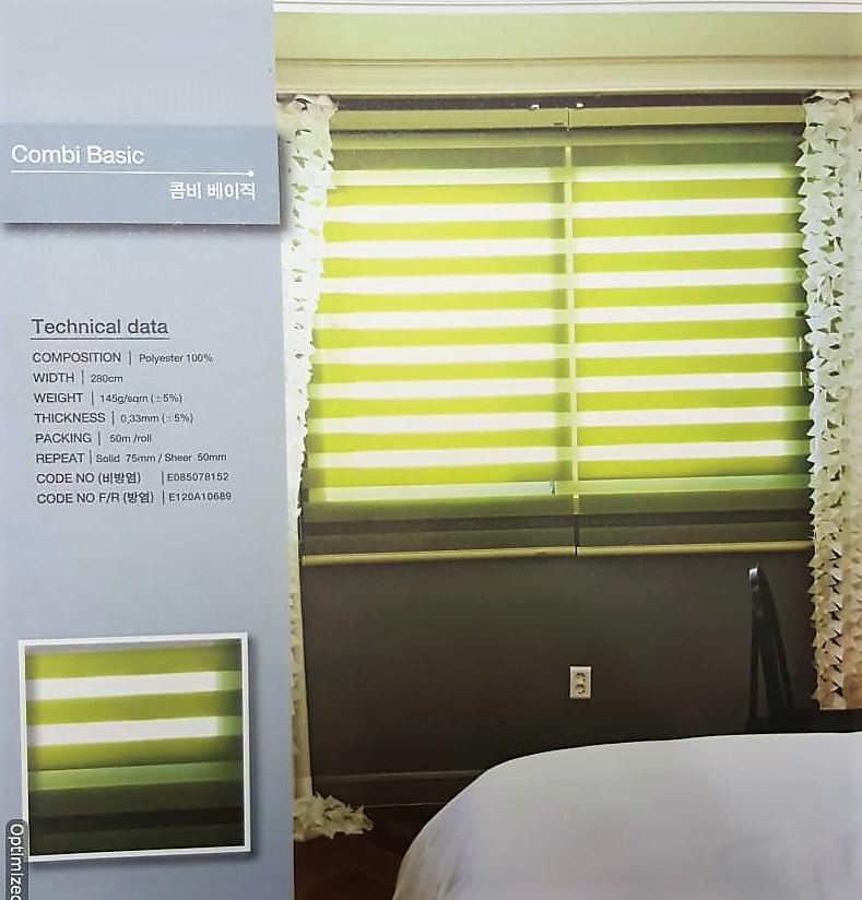 Combi blinds - Basic