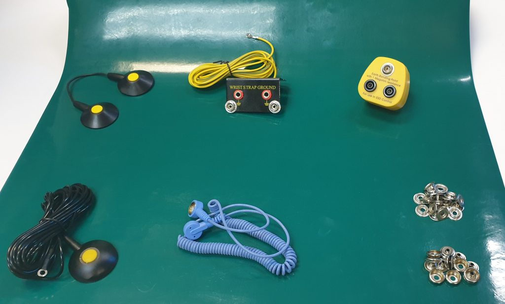esd mat accessories